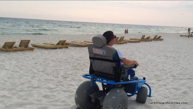 A Remarkable Beach Wheelchair In Panama City Fl