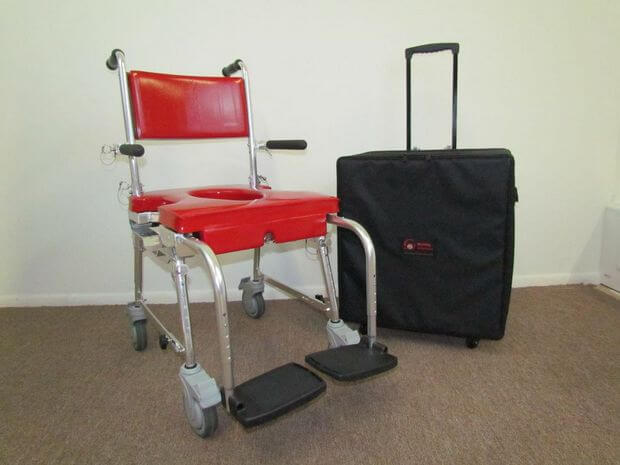 in my travels all of my equipment has been one of the biggest issues i have to travel with my shower chair a hoyer lift