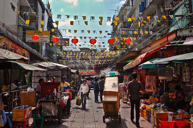 Chinatown wheelchair access bangkok thailand