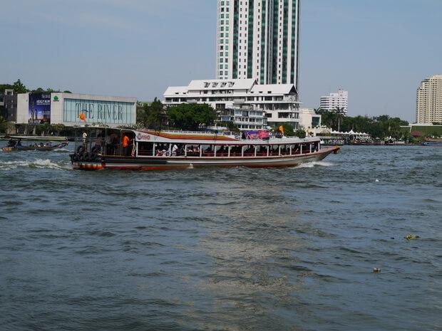 Chao Phraya River Boat wheelchair access bangkok thailand