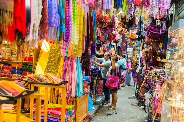 Chatuchak Market wheelchair access bangkok thailand
