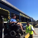 Riding the Wheelchair Accessible Blue Ridge Scenic Railway
