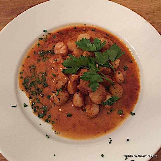 Resto had the best scallops EVER! wheelchair accessible things to do in reykjavik iceland
