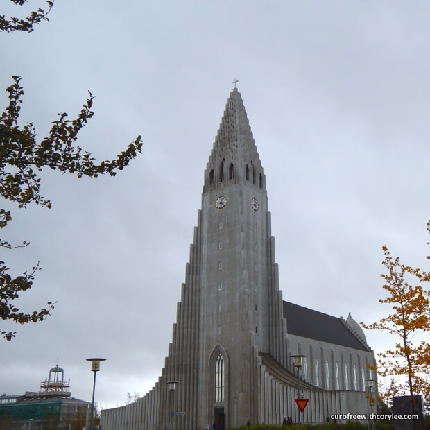 Hallgrimskirkja wheelchair accessible things to do in reykjavik iceland