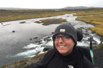 At Thingvellir National Park