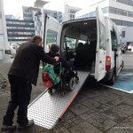 Wheelchair Accessible Transportation in Reykjavik, Iceland