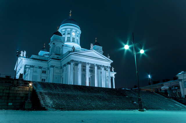 Helsinki Cathedral. Photo courtesy of Tim Benedict Pou via Flickr.