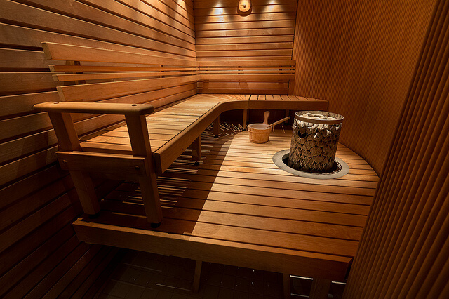 Sauna. Photo courtesy of Hotel Arthur via Flickr.
