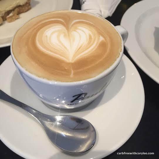 Cappuccino at Viaporin Deli