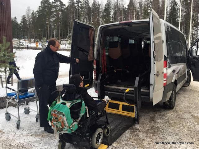 wheelchair accessible taxi transportation helsinki finland
