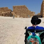 Wheelchair Accessibility at Masada Desert Fortress and the Dead Sea in Israel