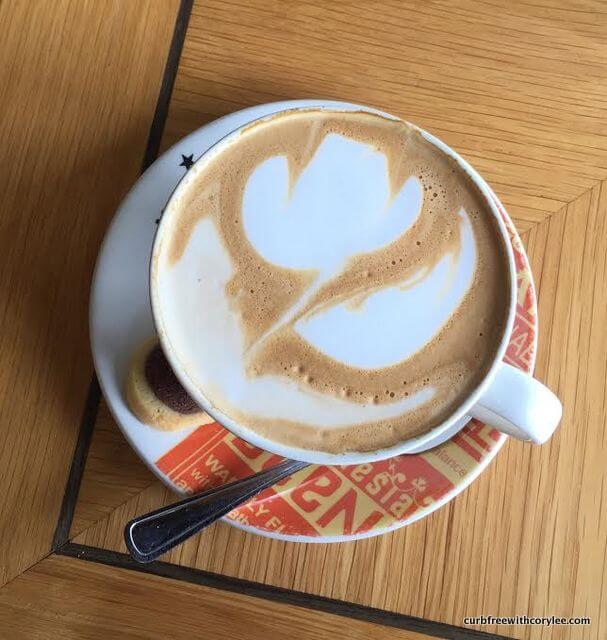 Cappuccino at Mugg and Bean