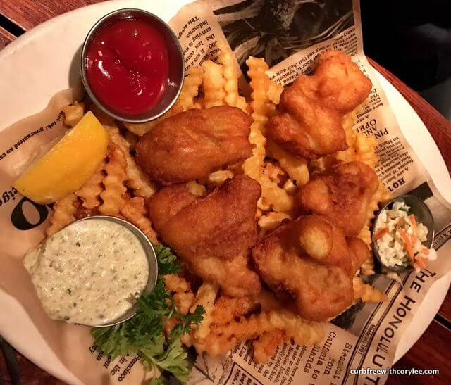 Walleye fish fry at Twin City Grill