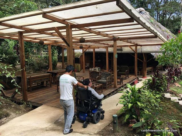 wheelchair accessible huasquila amazon lodge review