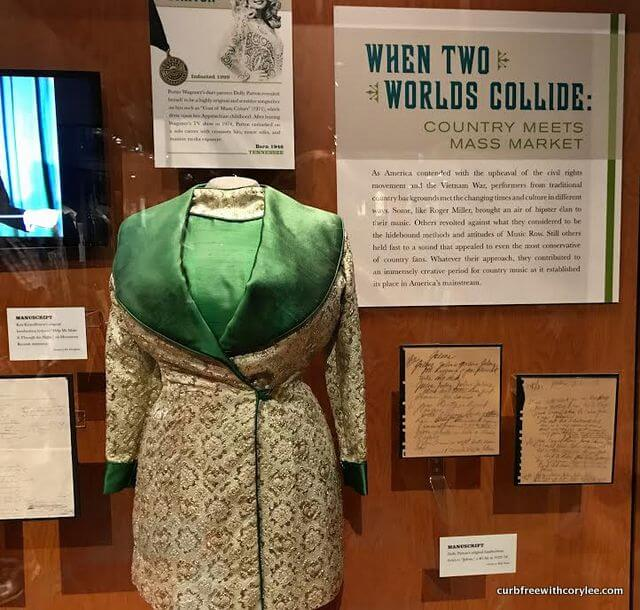 One of Dolly Parton's outfits