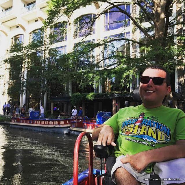 Enjoying a cruise with Rio San Antonio Cruises
