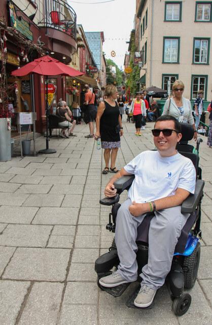 wheelchair accessible quebec city