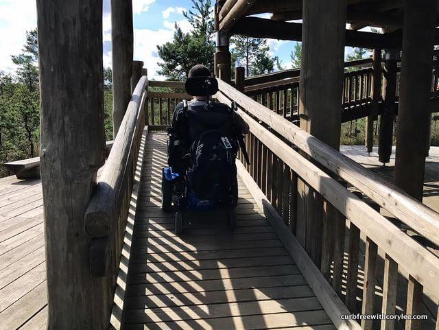 wheelchair accessible viru bog in estonia