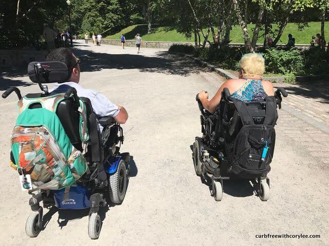 wheelchair accessible montreal canada handicap access