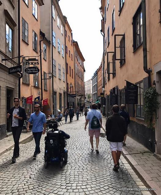 1 day in stockholm wheelchair accessible