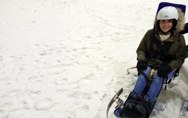 Skiing in Glasgow