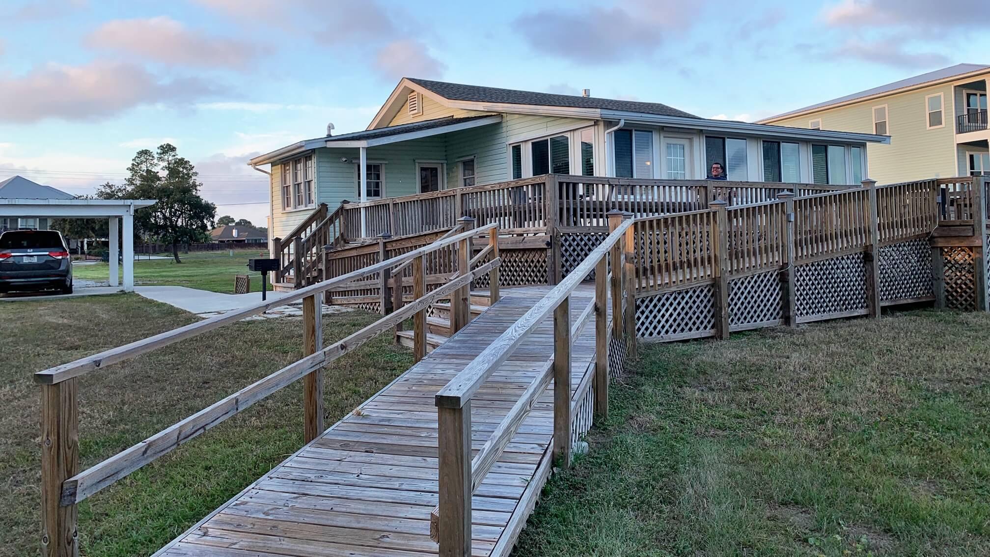 handicap accessible beach rentals north carolina
